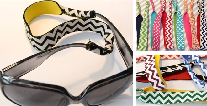 Neoprene Sunglasses Straps in 20 Color Combinations!
