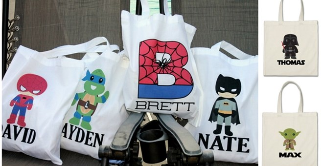 personalized totes