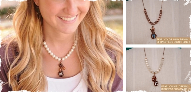 Bird Nest Necklace- Mother's Day Gift!