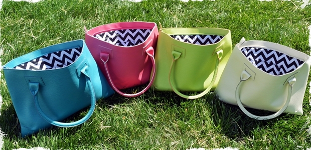 Chevron Charleston Handbags – Quick Ship!