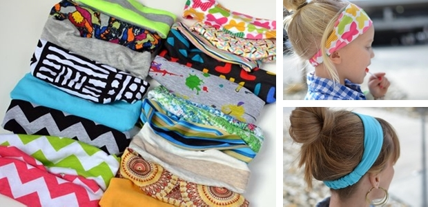 Yoga Style Headbands for Adults, Youth and Toddlers!