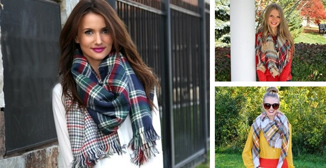 New Styles! Blanket Scarves - 7 Options!