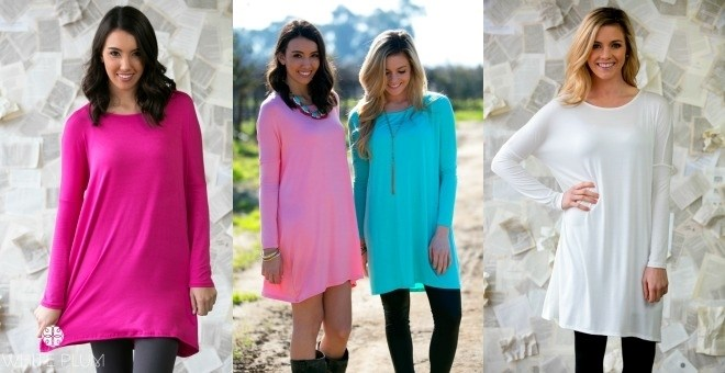 *HOT* Spring Favorite Tunics!