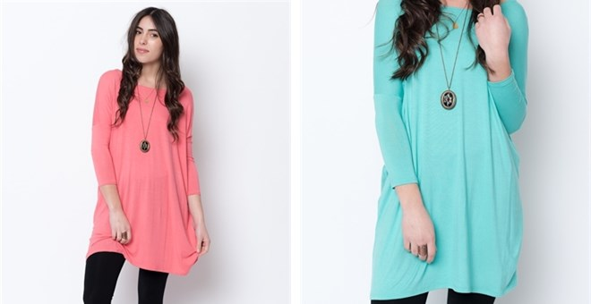 *HOT* Ballet Sleeve Tunic...