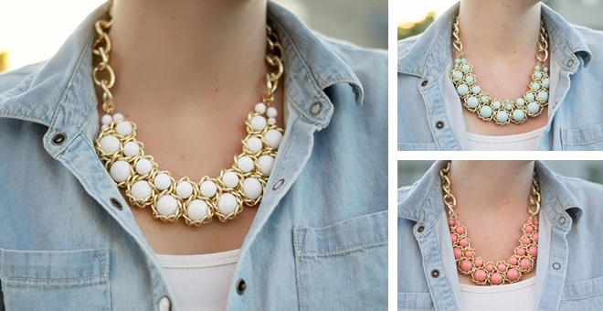 Beaded Chain Necklace!