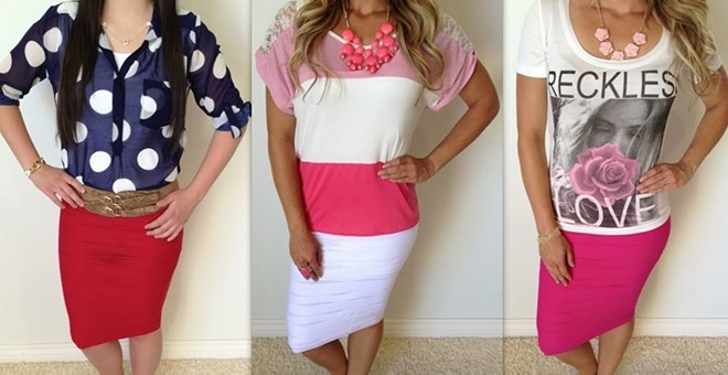 Summer Scrunchy Skirts – Quick SHIP