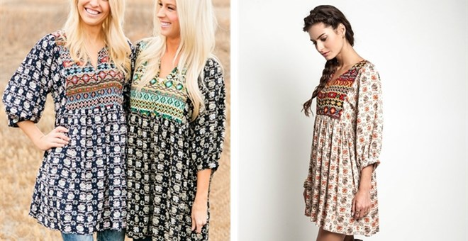 Boho Tunics uk Boho Tunic Dress