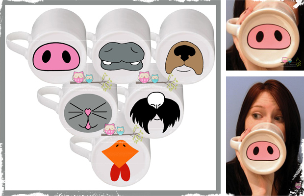 Silly Vinyl Nose Decals - 6 Nose Options! Perfect for April Fool's Day!