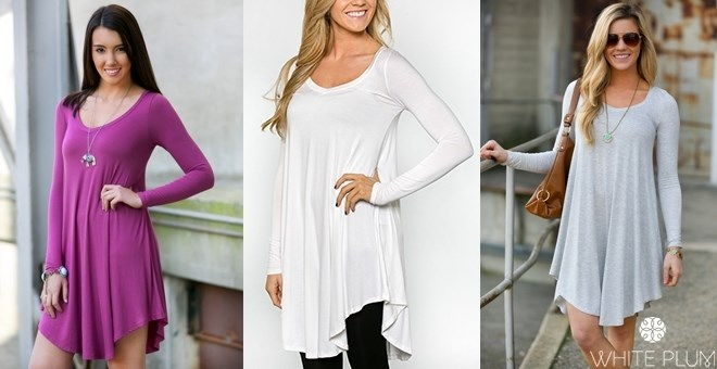 *HOT* Draped Ballet Tunic!  15...