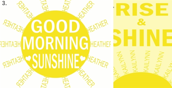 Good Morning Quotes Rise And Shine : Personalized good morning sunshine or rise and shine