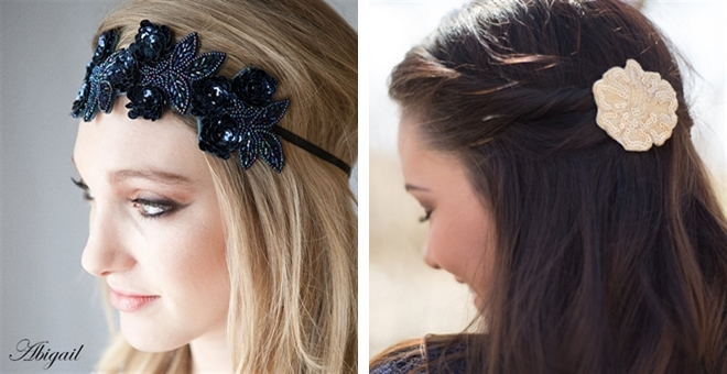 Designer Beaded Headbands and Clips BLOWOUT!