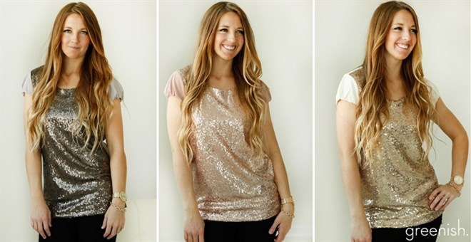 *HOT* Sparkle Front Tunics!