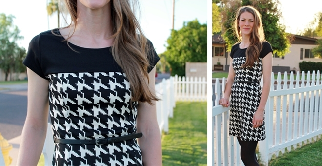 Houndstooth Dress!