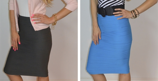 Must Have Scrunchy Pencil Skirts!