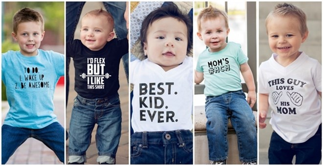 T Shirts & Onesies - 5 Colors! 12 Designs!