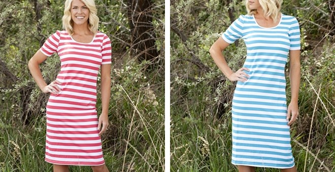 The Perfect Casual Dress! Fits sizes 0-16!