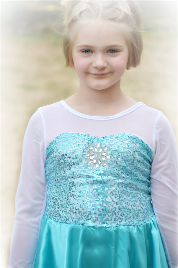 21.99 | BIGGER SIZES! Beautiful Ice Queen Dress 3T-16y